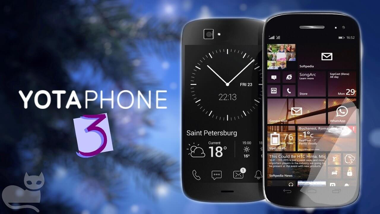 YotaPhone 3 specificatii