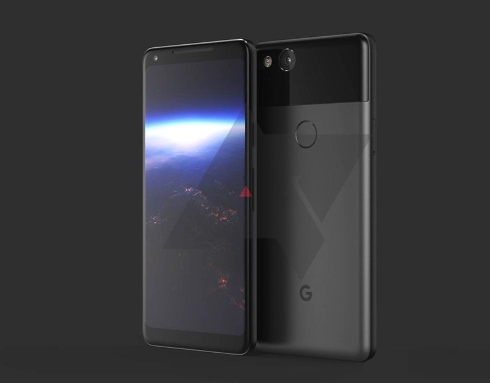Google Pixel 2 XL concept si detalii noi