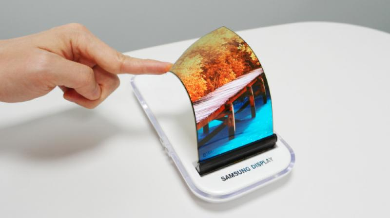 Samsung display OLED