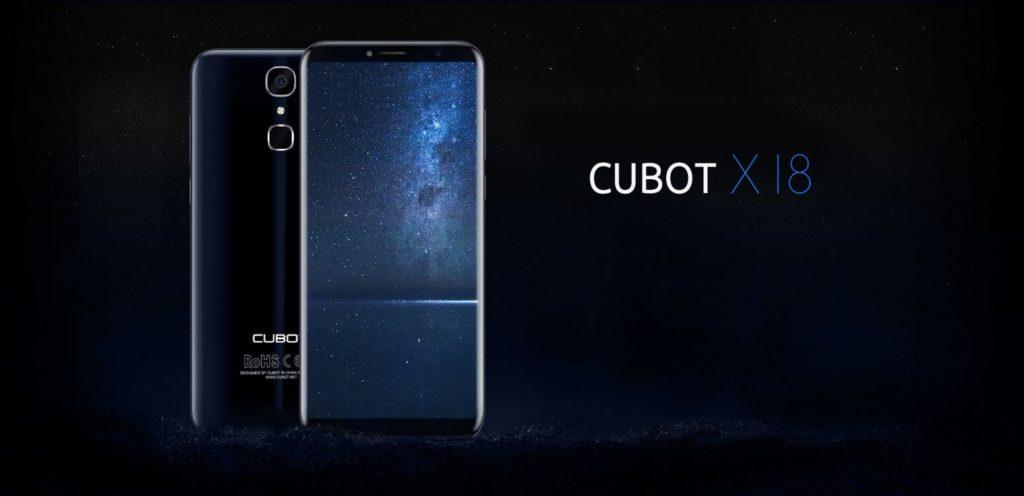 Cubot X18 smartphone cu ecran de 5.7 inch si raport 18:9