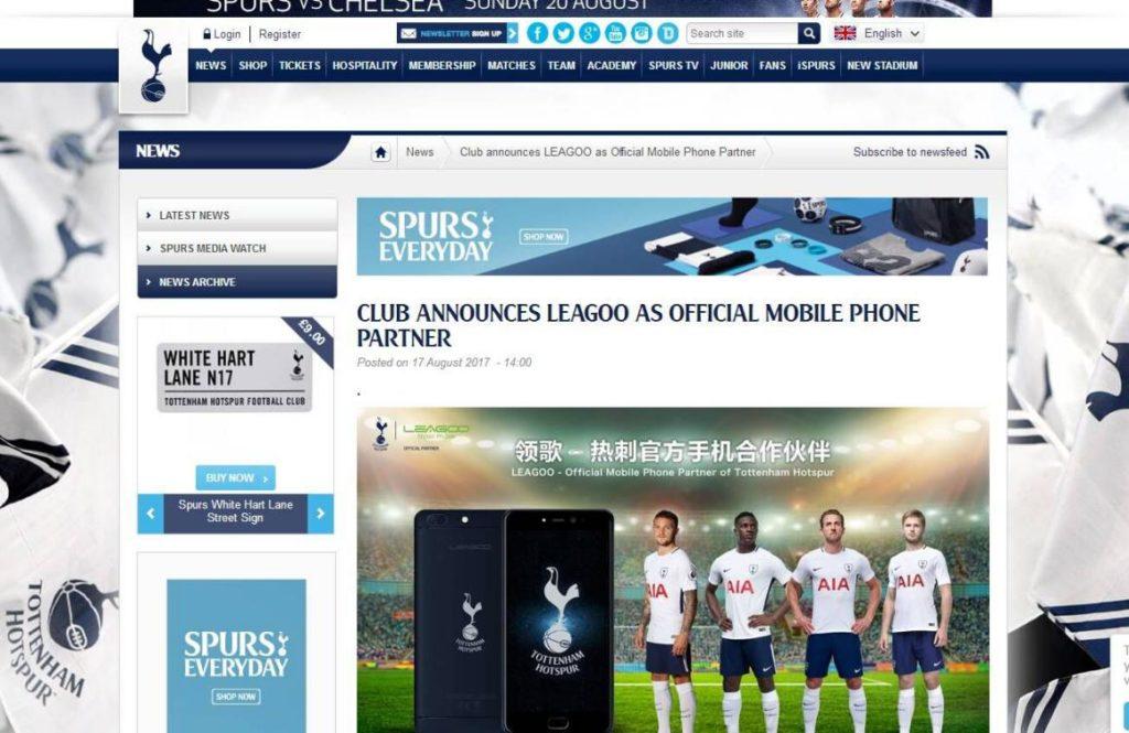 Leagoo - Tottenham Hotspur (2)