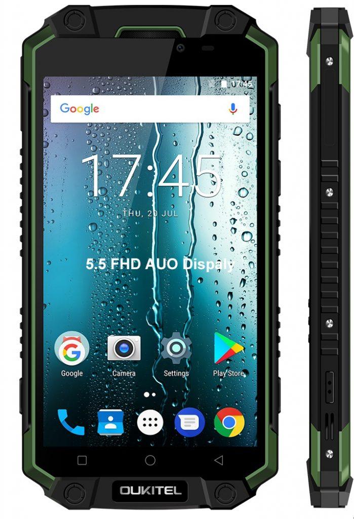 Modelul Oukitel K10000 Max smartphone rugged cu autonomie incredibila