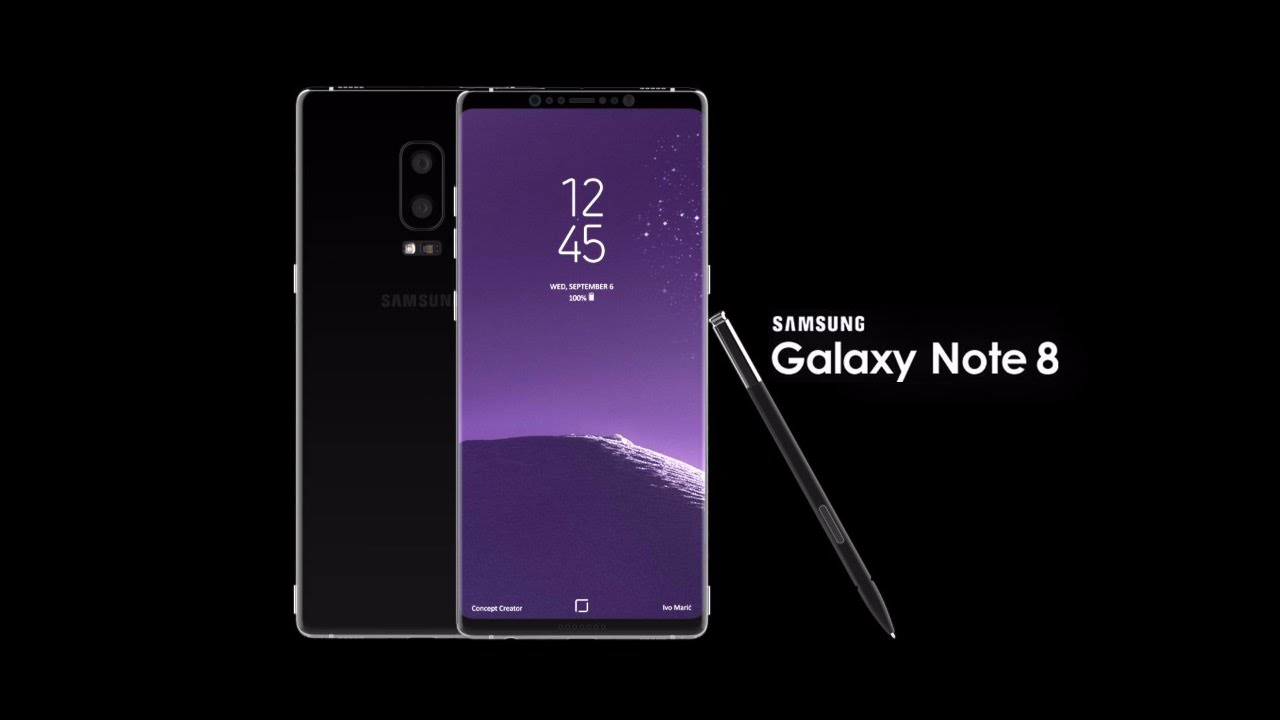 Samsung Galaxy Note 8 doua clipuri video oficiale, inainte de lansarea oficiala
