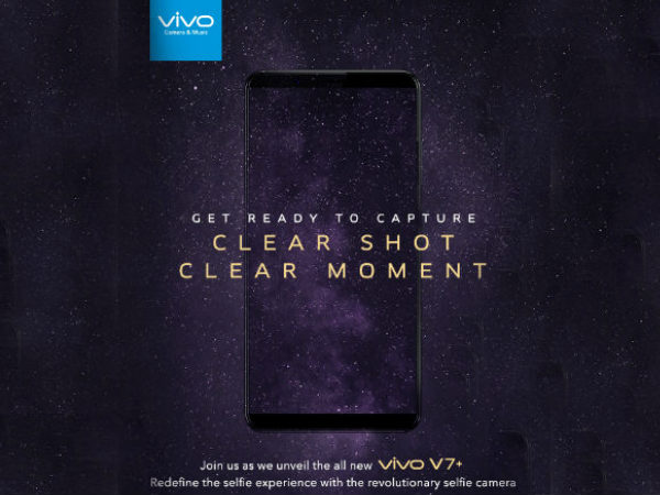 Vivo V7 Plus va fi lansat oficial pe 7 septembrie