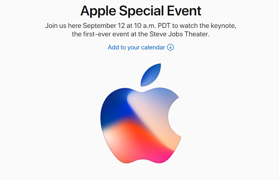 Eveniment Apple iPhone 8