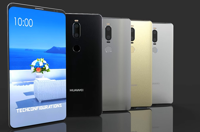 Huawei Mate 10 si Mate 10 Pro specificatii tehnice conform lui Evan Blass