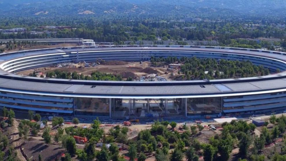 iPhone X Apple Park