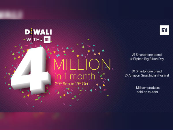 Compania Xiaomi-festivalul Diwali