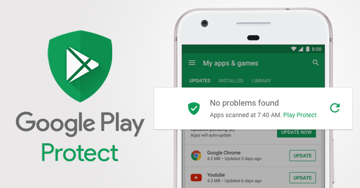 Google Play Protect Android Oreo