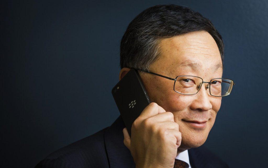 John Chen, brandul BlackBerry