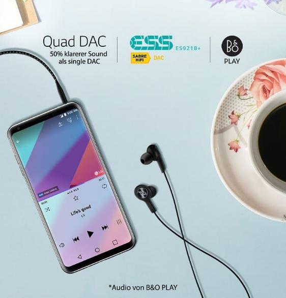 LG V30 Quad DAC