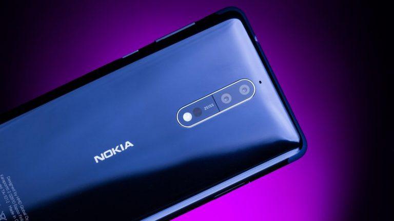 Nokia 8 cu 6GB memorie RAM