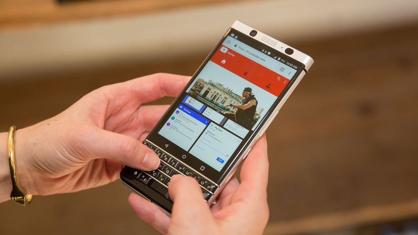 Succesorul lui BlackBerry KEYone zarit in Geekbench: ne pregatim de BlackBerry KEYtwo?