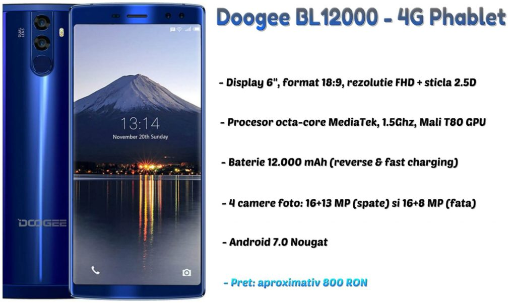 Doogee BL12000 review (1)