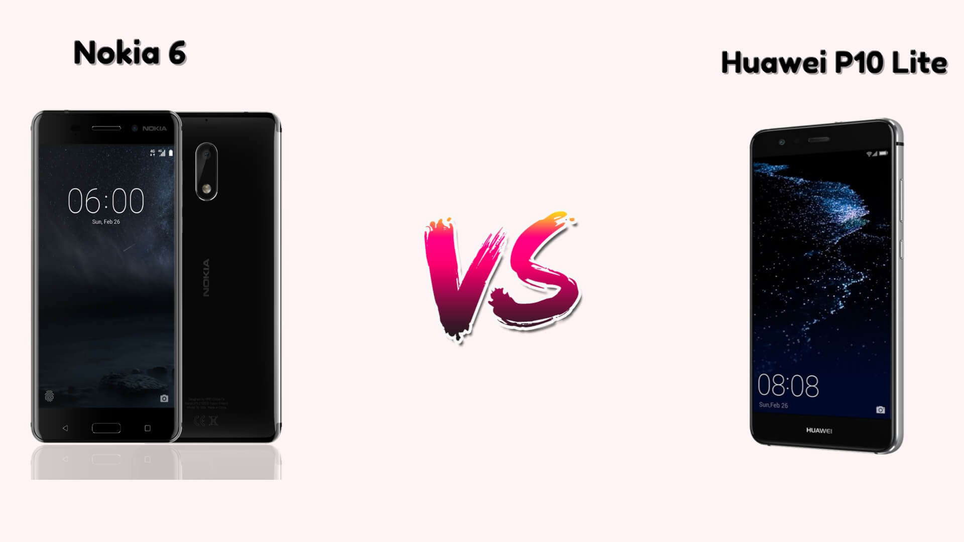 Nokia 6 vs Huawei P10 Lite (2)
