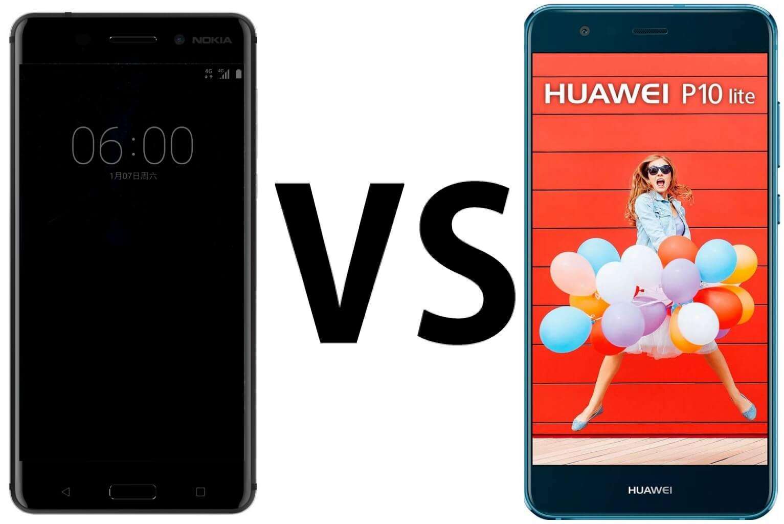 Nokia 6 vs Huawei P10 Lite