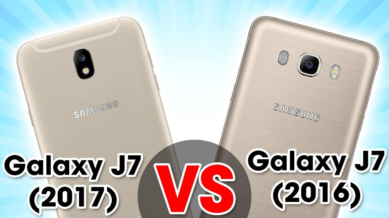 Samsung Galaxy J7 2016 vs Samsung Galaxy J7 2017
