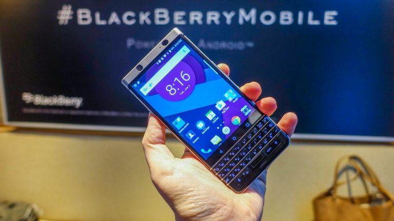 Succesorul lui BlackBerry KeyONE deja in lucru