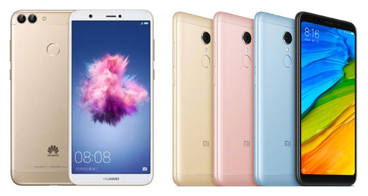 Huawei Enjoy 7s vs Xiaomi Redmi 5 Plus (1)