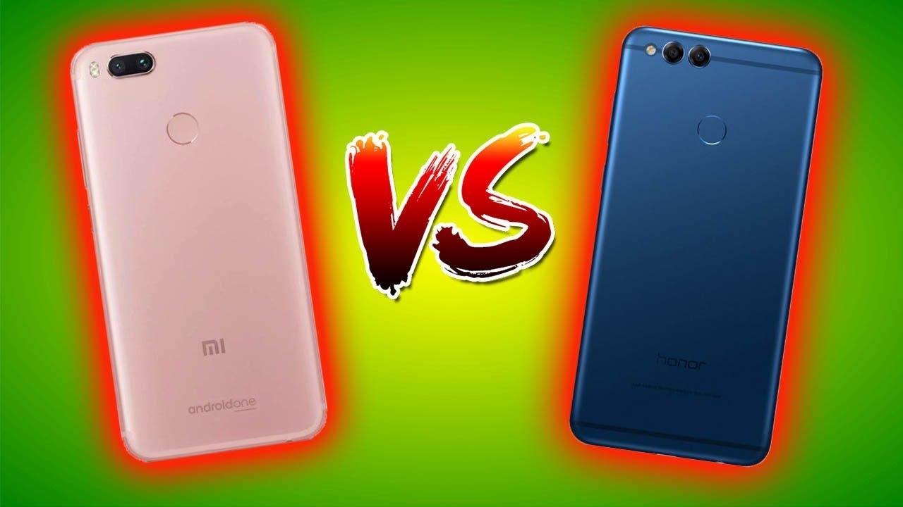 Huawei Honor 7x VS Xiaomi Mi A1