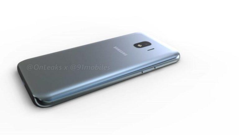Samsung Galaxy J2 Pro 2018 isi dezvaluie design-ul