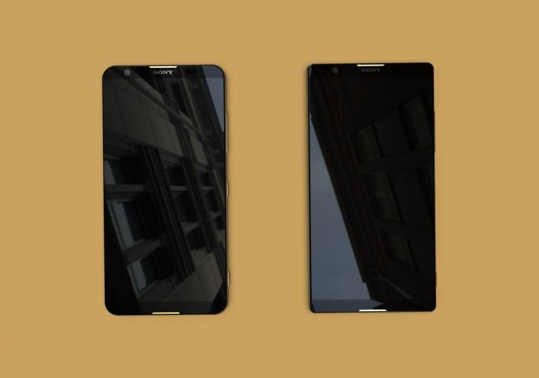 Cum vor arata telefoanele Sony in 2018