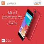 Xiaomi Mi A1 Special Edition Red