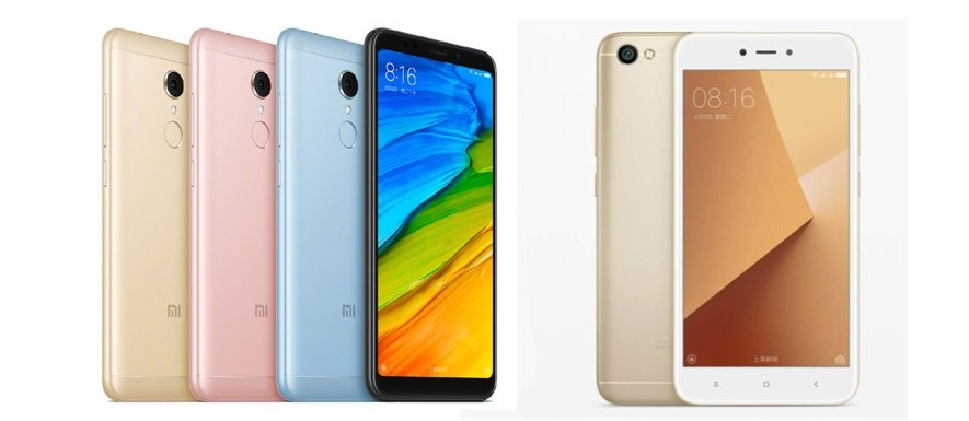 Comparatie Xiaomi Redmi 5 vs Xiaomi Redmi Note 5A