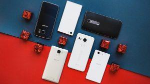 TOP 5 smartphones cu Android in 2016