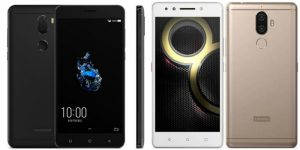 Lenovo K8 Note vs CoolPad Cool Play 6