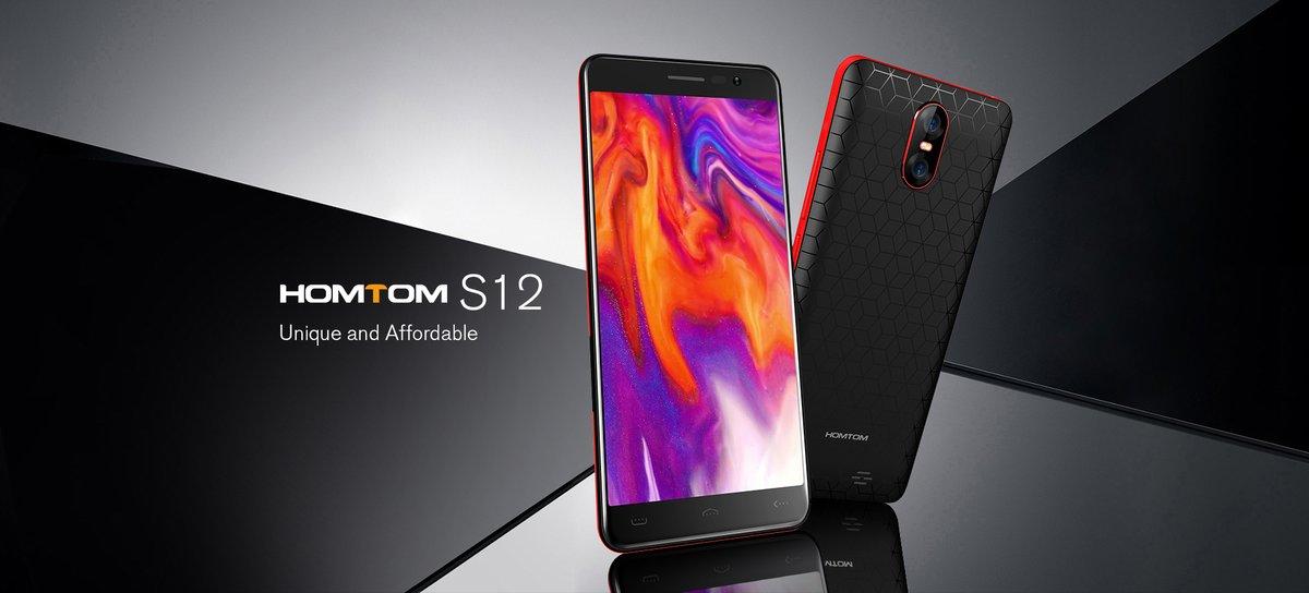 HOMTOM S12 telefon de buget