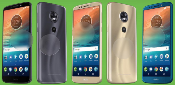 Moto G6, Moto G6 Plus si Moto G6 Play in primele imagini