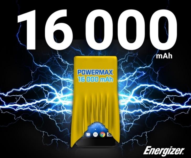 Energizer lanseaza un telefon cu baterie de 16.000 mAh: Energizer Power Max P16K Pro