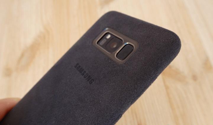 Husa originala Samsung Galaxy S8 Alcantara (3)