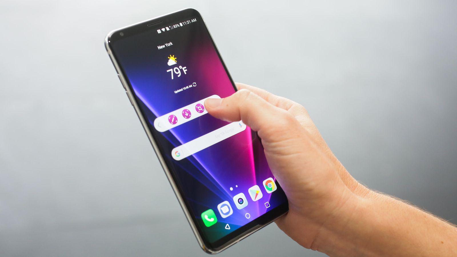 LG lanseaza LG V30s la Mobile World Congress