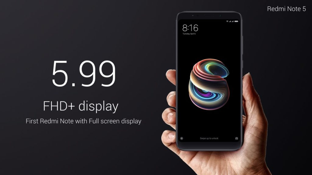 Xiaomi Redmi Note 5 (3) display
