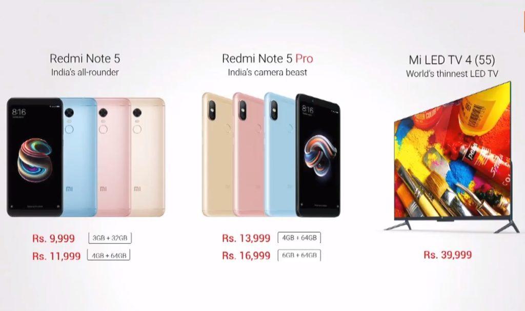Xiaomi Redmi Note 5 Pro pret