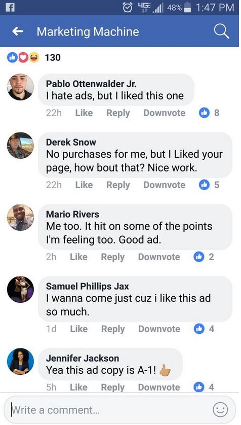 butonul downvote pe facebook