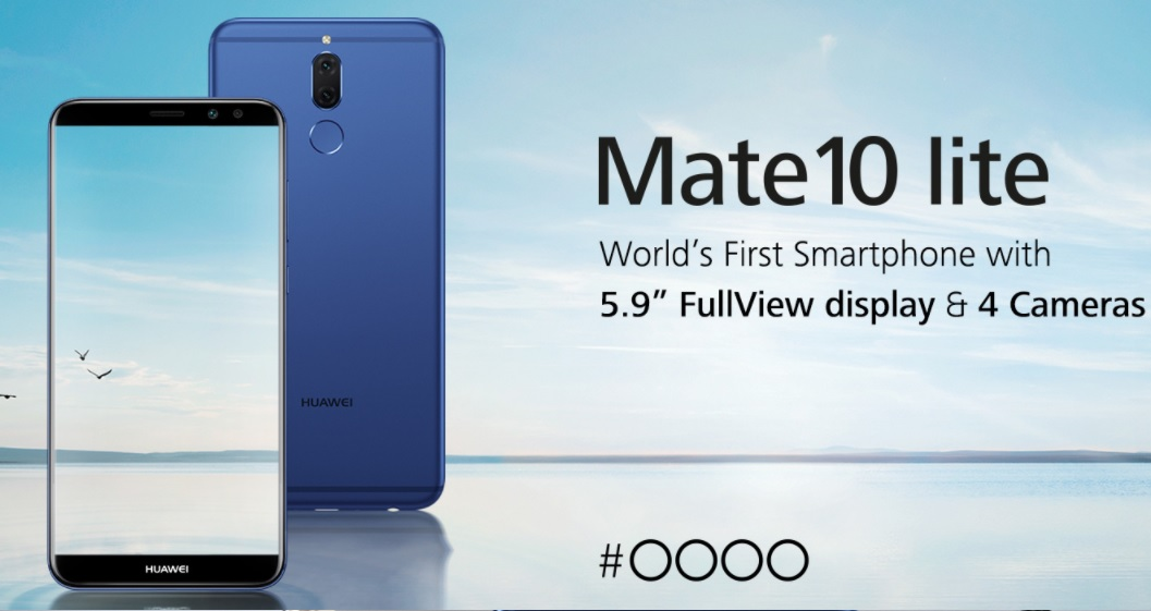 Huawei Mate 10 Lite display