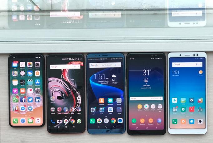 TOP 5 telefoane cu recunoastere faciala