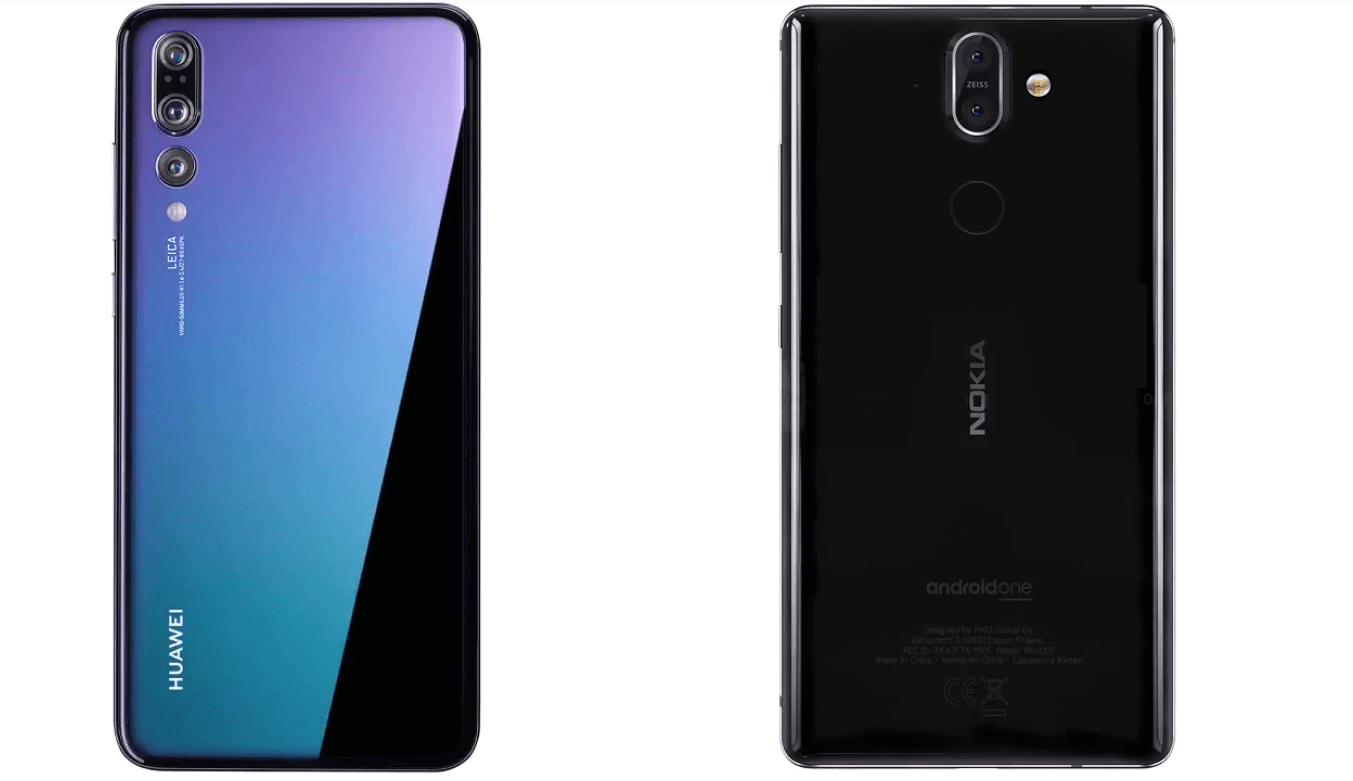 Nokia 8 Sirocco vs Huawei P20 Pro (2)(1)