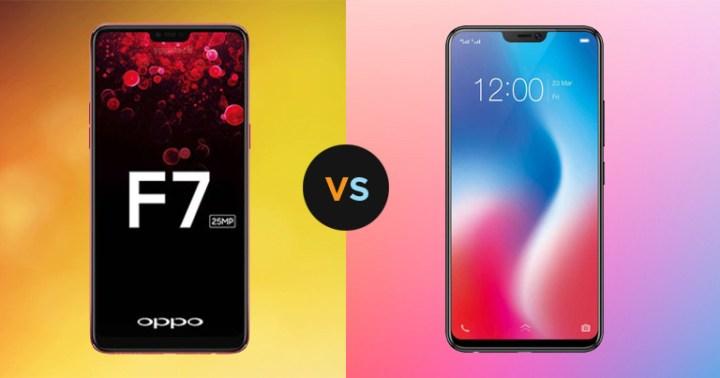 Oppo F7 vs Vivo V9 (2)