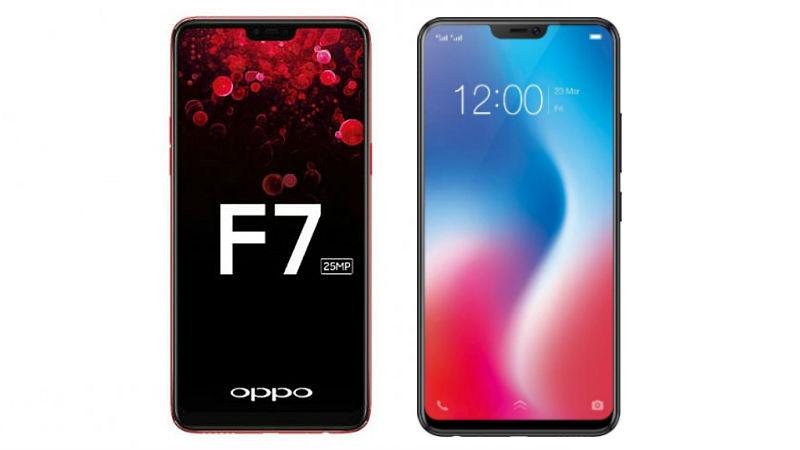 Oppo F7 vs Vivo V9 (3)
