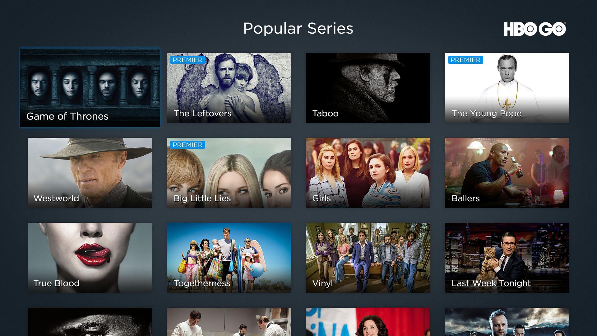 Seriale populare HBO Go Romania