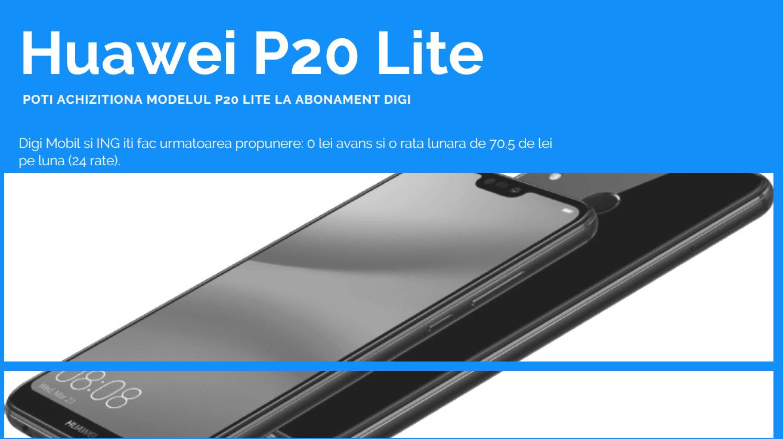 Huawei P20 Lite Digi