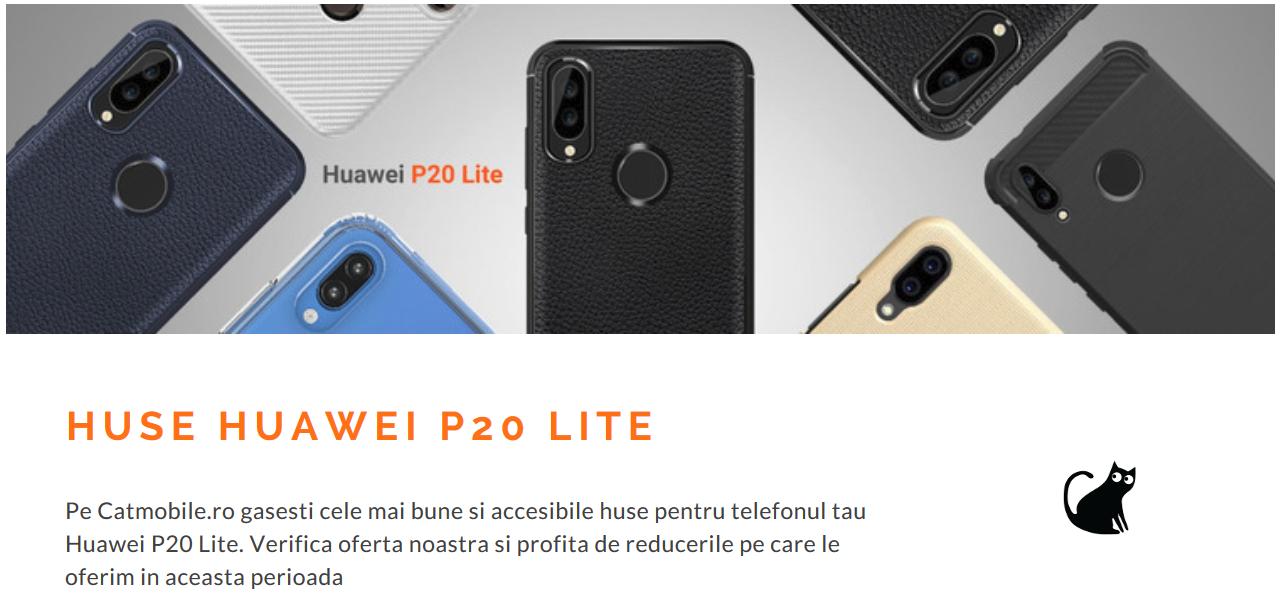 huse Huawei P20 Lite