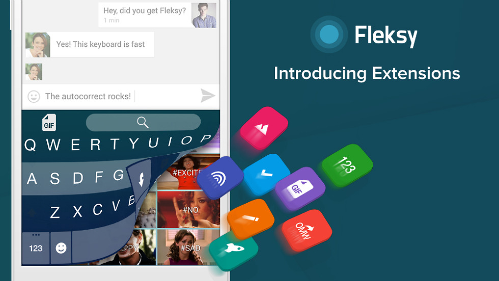 Fleksy+ GIF Keyboard