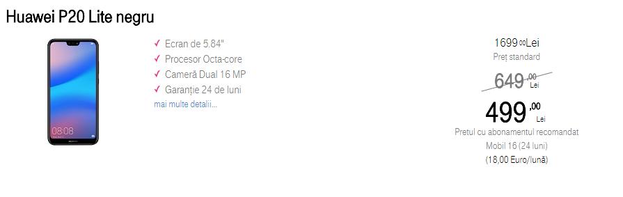 Huawei P20 Lite Telekom Romania