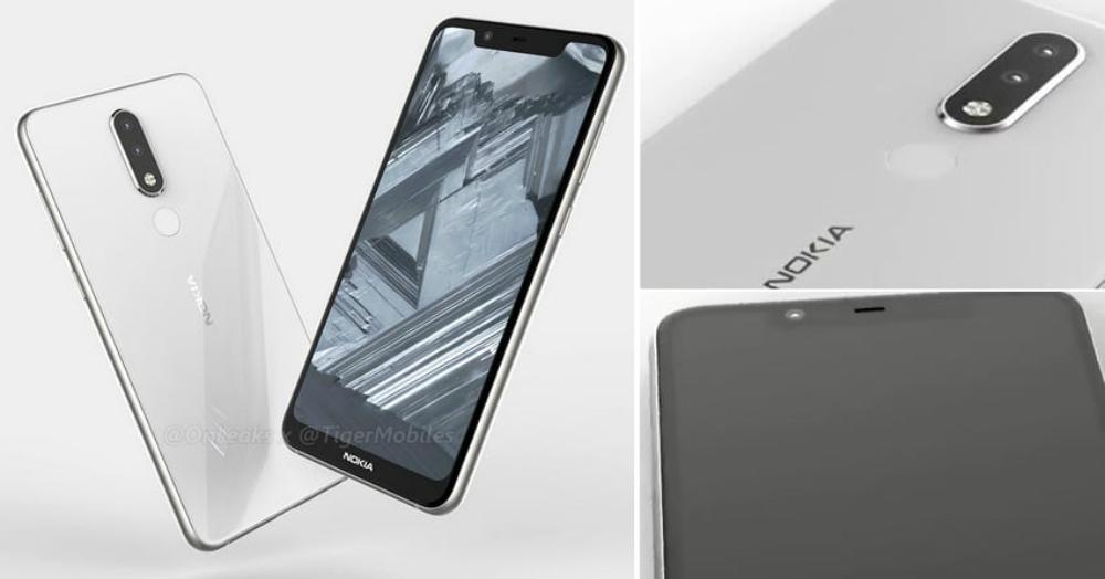 Nokia 5.1 Plus are ecran cu breton si camera duala pe spate