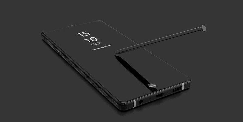 Samsung Galaxy Note 9 stylus